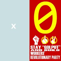 0 Stay Golput and build revolutionary workers party copy