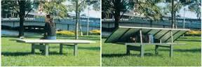 Desain bangku dan dipan karya arsitek Melbourne