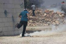 Palestina - Foto demo rakyat Palestina di Kufr Qaddum 03