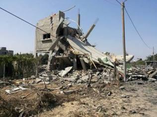Palestina - Kerusakan Gedung Akibat Serangan Israel