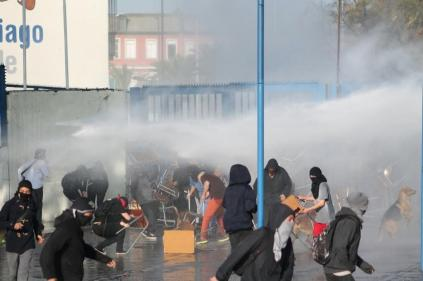 Aksi Pelajar Mahasiswa Chile 11