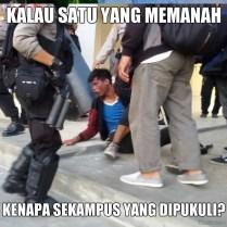 Meme Tolak Kekerasan Kepolisian - Tolak Penaikan Harga BBM 04
