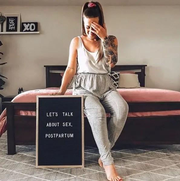 Let's talk about postpartum sex