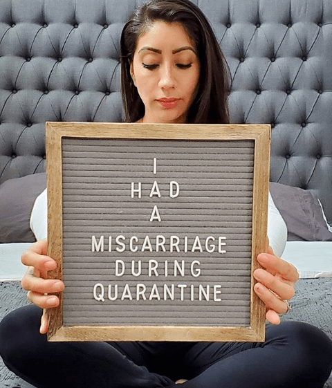 I Had A Miscarriage During Quarantine
