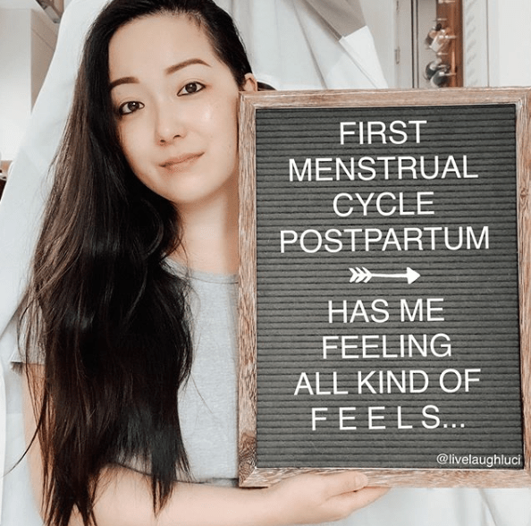First Menstrual Cycle Postpartum