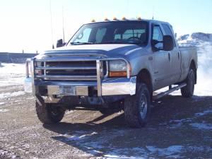 Truck Defender Aluminum Front Bumper Ford F250F350 Super