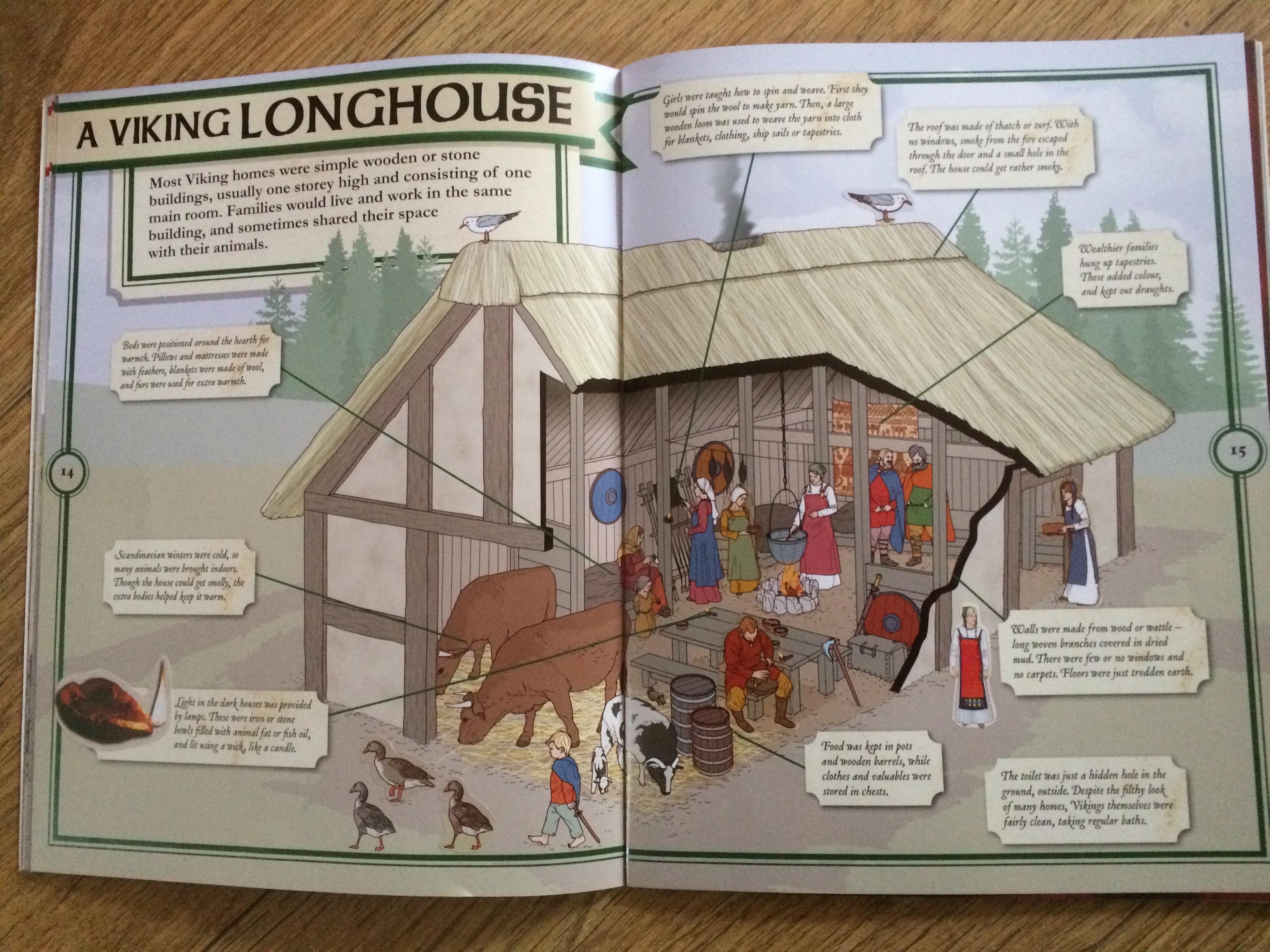 Anglo Saxons And Vikings Bumpsbooksandbeyond