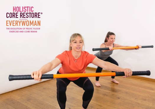 Using a variety of different methods to improve core and pelvic floor function.