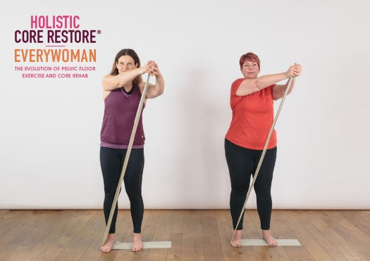 Core and pelvic floor exercises for all women