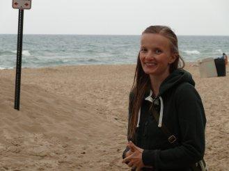 Am Strand vom Dunes Park