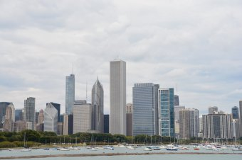 Die Skyline Chicagos