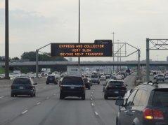 Die Highways zu den Großstädten sind gut gefüllt