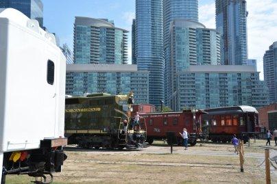 Kanadische Eisenbahnausstellung