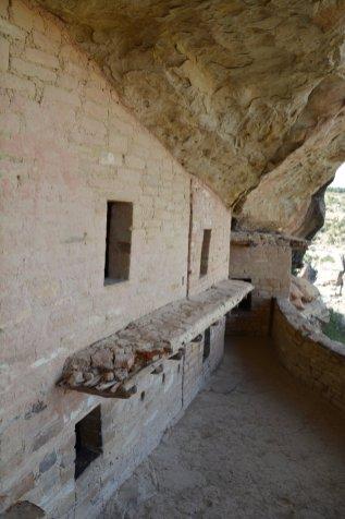 Zugang zur zweiten Ebene über den Balkon