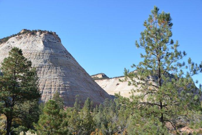 Die Checkerboard Mesa (Schachbrett-Tafelberg)