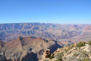 Erster Blick in den Grand Canyon