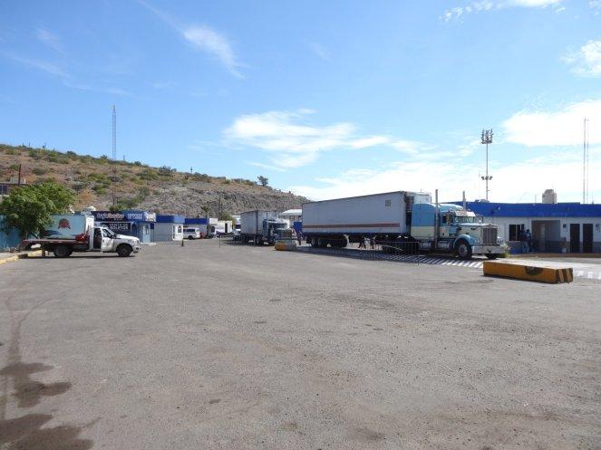 Im Hafen von La Paz