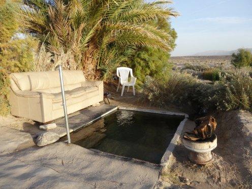 ...mit warmem Bad für uns allein