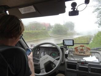 schlechtes Wetter - aber immerhin Handyempfang