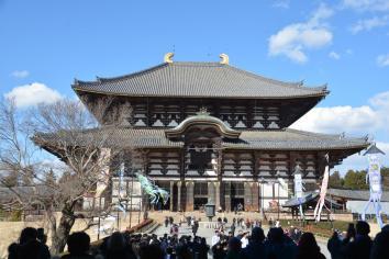 In diesen Buddhistichen Tempel dürfen keine Rehe rein...