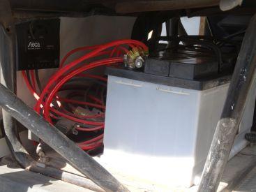 Neue Zweitbatterie - die Alte war kaputt
