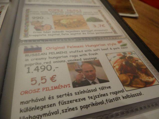 Selbst Putin findet das Essen gut? Weiß nicht ob das jetzt positiv oder negativ ist