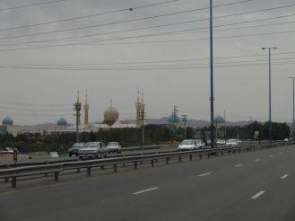 Imam Khomeini Mausoleum - eigentlich ist Ahnenkult verpöhnt im Islam!