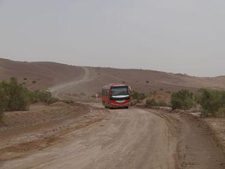 Der Weg zum Salzsee - scheint eine touristische Aktraktion zu sein
