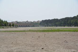 Zayandeh Rud - ausgetrocknete Fluss
