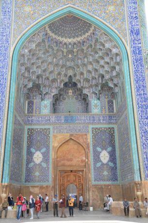 Eingang Abbasi Moschee