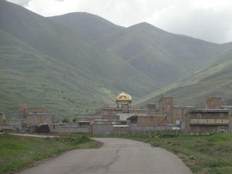 Eine glitzernde Moschee