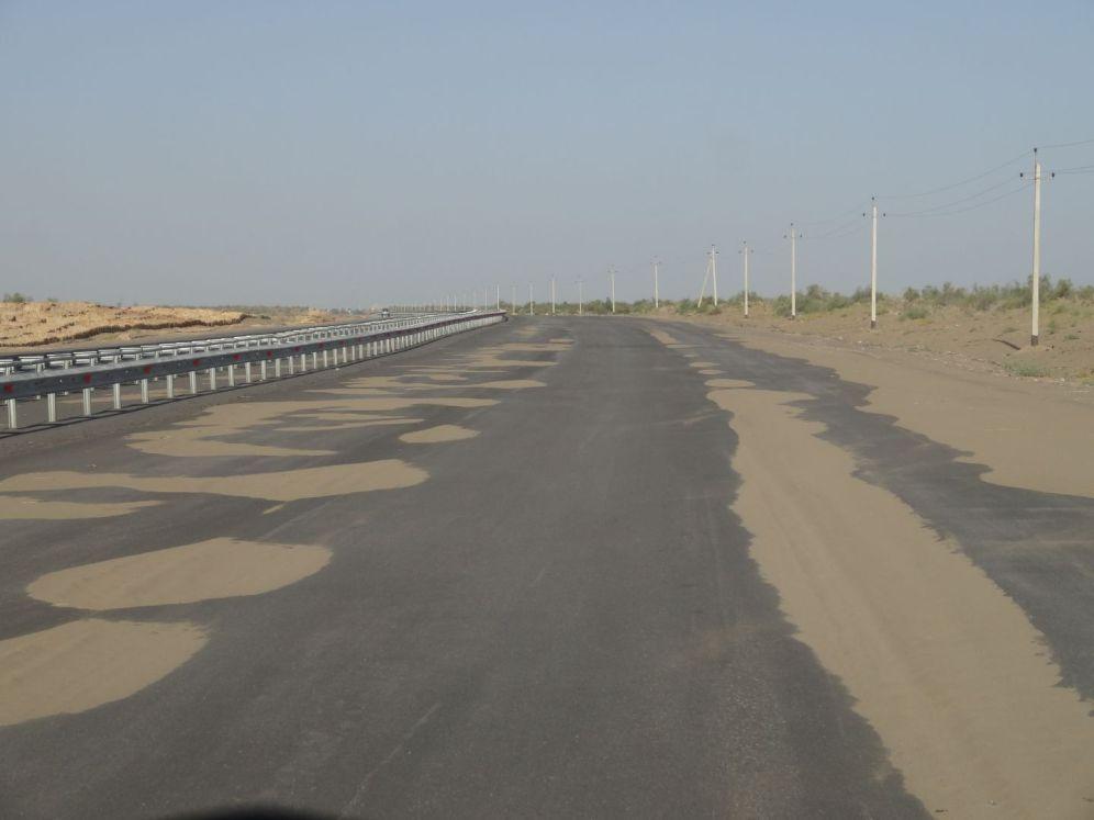 Letzte Kilometer bis nach Usbekistan