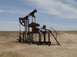 Stillgelegte Ölpumpen