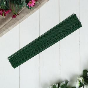 """Проволока для изготовления цветов """"Зелёная"""""""