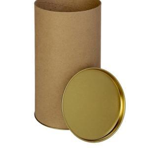 Тубус картонный без печати