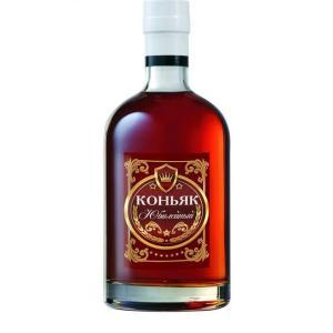 "Наклейка на бутылку ""Коньяк Юбилейный!"""