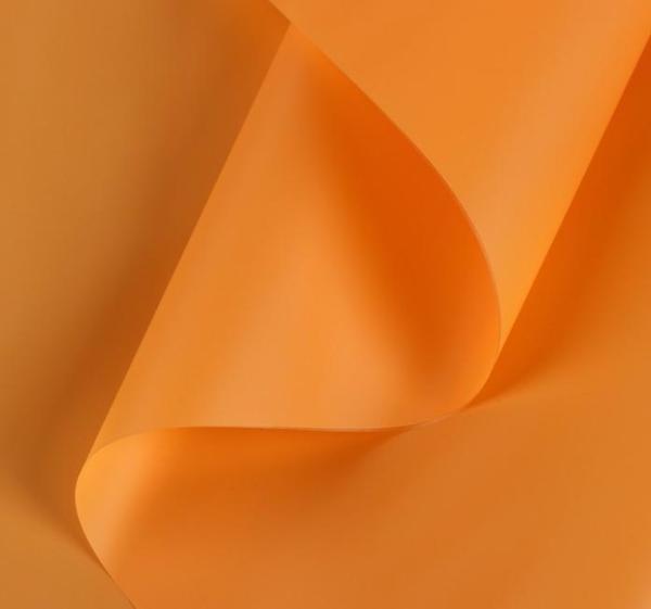 Пленка матовая, оранжевая