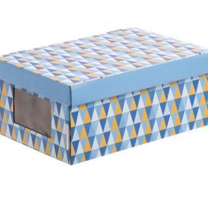 Коробка с окошком «Грани»