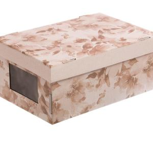 Коробка с PVC окошком «Нежные краски»