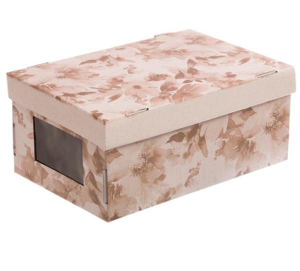 Коробка с окошком «Нежные краски»