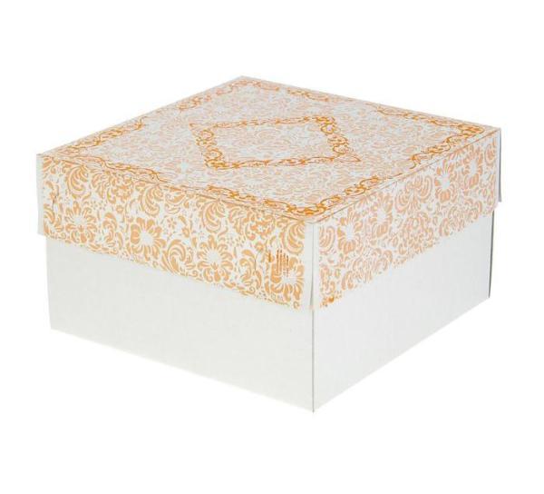 Коробка 21 х 21 х 12 см