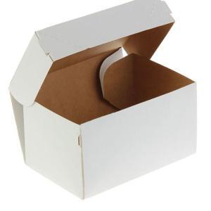 Коробка белая 15 х 10 х 8,5 см, 1,2 л