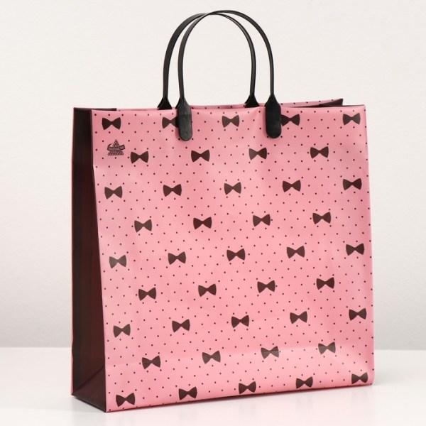 "Пакет ""Бантики на розовом"""