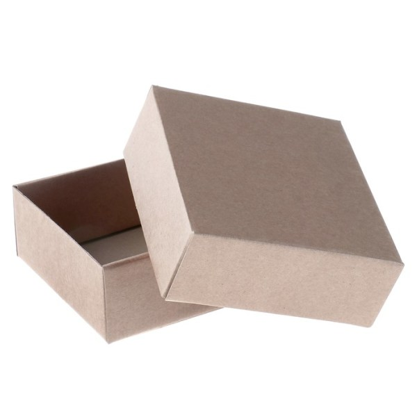 Коробка сборная без печати крышка-дно