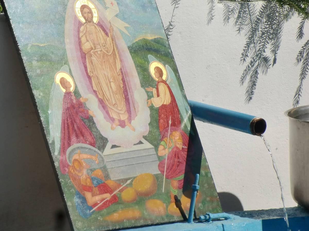 Izvorul Tamaduirii-Manastirea Nechit-neamt