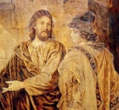 """""""Bunule Învăţător, ce bine să fac, ca să am viaţa veşnică?"""" (Matei IX,16)"""