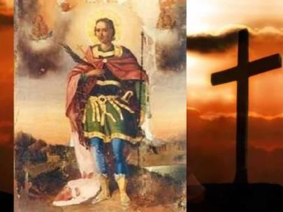 Pătimirea Sfîntului Slăvitului Marelui Mucenic Gheorghe, Purtătorul de biruinţă