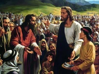 """""""Au mâncat toţi şi s-au săturat""""-Predica duminica a opta dupa rusalii"""