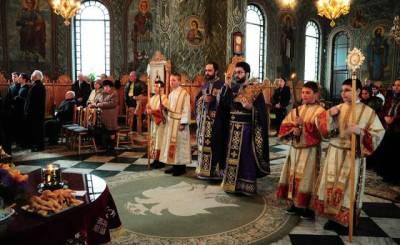 slujba liturghiei