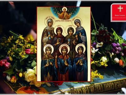 Femeile mironosiţe-Duminica a III a dupa Sfintele Pasti